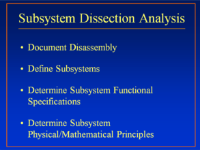 Subsystem Dissection