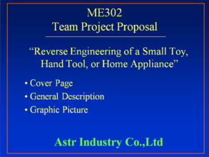 Team Project Proposal