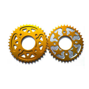 cnc motorcycle parts for chain wheel sprocket