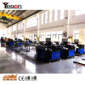 Hood quality PP artificial rattan extrusion machine for furniture basket
