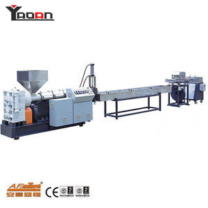 Single Screw Type Waste Plastic Granulating Machine