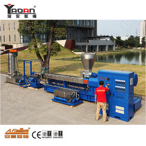 Twin Screw EVA TPE TPR TPV Under Water Granulating Machine