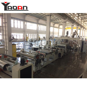 Parallel Twin Screw Extruder APET PETG PET Sheet Extrusion Machine