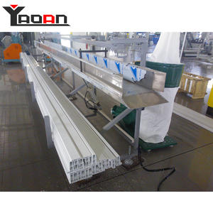 High Quality AF-55/110 Rigid PVC Profile PVC Door Frame Making Machine