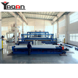 Water proof PE geomembrane sheet machine 6m width sheet extruder