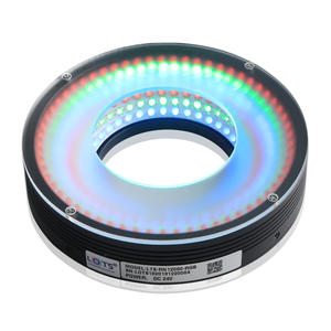 Flat Led Lamp Triple Color Ring Light