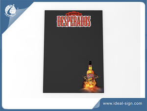Desperados Brand Promoting Advertising Writing Board Wooden A Frame Signs