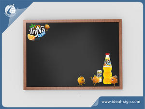 Custom Made Traditional Advertising Chalkboard