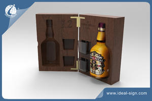 Wine / Champagne/ Whisky Wooden Wine Box