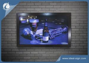 Custom marketing advertising poster wall decoration for bar night club