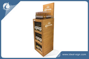 customized wholesale bottle display rack  brand solution