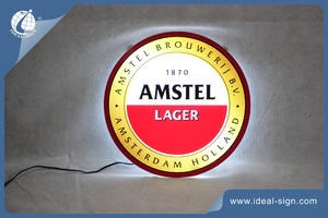 Amstel Roundness Slim Light Box