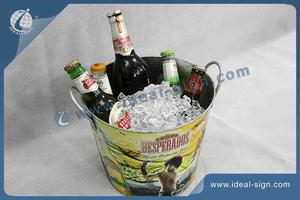 Customized Desperados Tinplate Party Tub / Ice Bucket