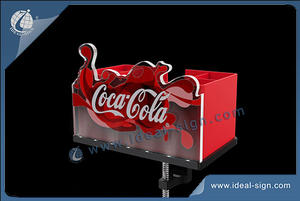 Coca Cola Bar Top Bottle Opener With Bar Caddy Display