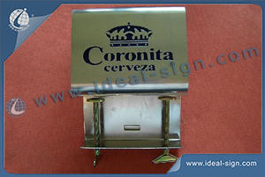 Coronita Stainless Steel Bar Top Bottle Opener With Display Mountable
