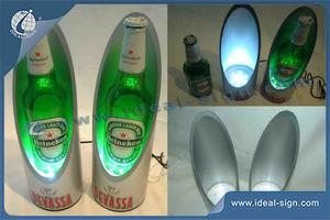 Devassa LED PVC Wine Bottle Rack For Displaying