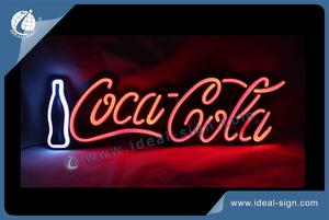 Personalized led neon bar signs beer signs neon like signs Coca Cola bar signs