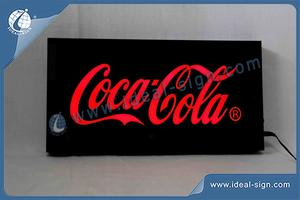 Coca Cola Indoor Acrylic Case LED Resin Sign