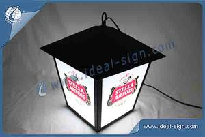 Stella Artois Street Lamp Style Indoor Outdoor LED Signs For Brand Promotion