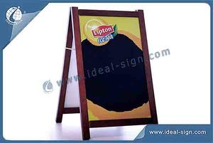 Wholesale Wooden A Frame Signs With Customized Size And Logo