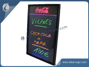 China supplier for Coca Cola promotional menu writing board for wholesale