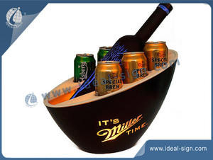 10-12L illuminated ice buckets China manufacturing