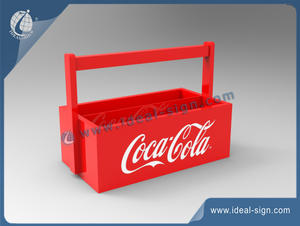 Customized Coca Cola Wooden Box