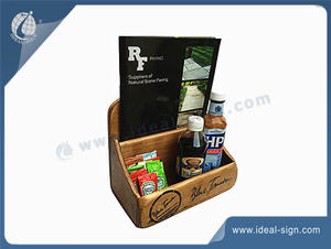 Customized Wood Napkin Holder/Desktop Storage Box