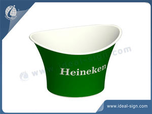 custom made plastic party ice buckets for wholesale with factory price.