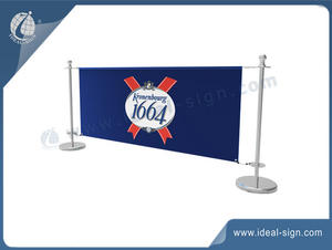 High Quality Cafe Banner Barriers