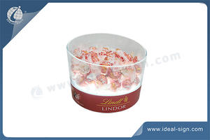 Acrylic Led Bucket For Chocolate Ball