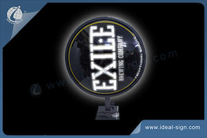 Exile Brewing Sign Vacuum-Formed LED Light Sign