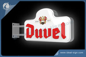 Custom DUUEL Vacuum Formed Creative Shape Light Signs