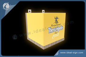 Outdoor Light Sign THEREZOPOLIS Light Box