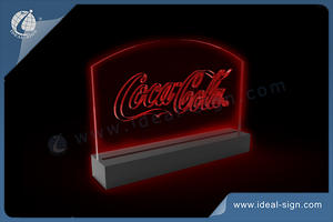 Coca cola LED Table Display / Customized Bar Signs