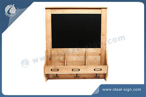 Indoor Wall-mounted Chalkboard With Wooden Frames