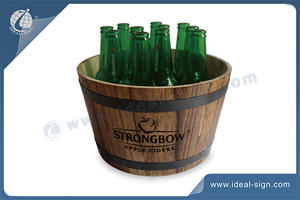 Retro Style Large Capacity Ice Bucket