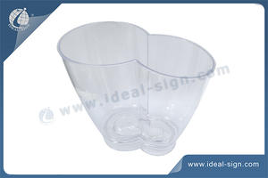 Plastic Ice Buckets With Unique Shape