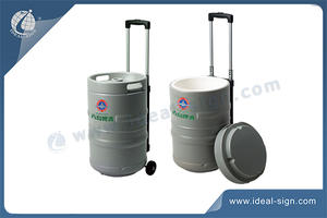Pull Rod-type Can Shaped Cooler Ice Bucket