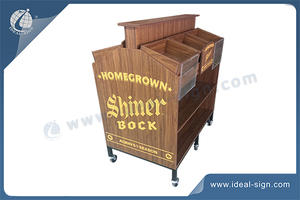 Customized Wooden Wine Rack For Promotion