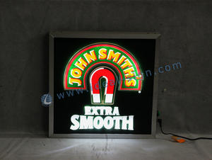 Wholesale custom indoor led signs lighted beer bar signs with illuminated effect