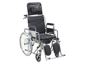 Chromed Plated Deluxe Wheelchair AGSTGC001