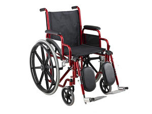 Low price Adjustable Height Iron Wheelchair suppliers