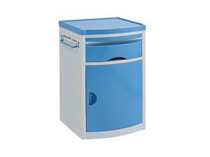 Hospital ABS Plastic Bedside Cabinet AGHE007