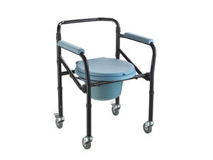Othopedics medical lightweight steel commode toilet chair factory