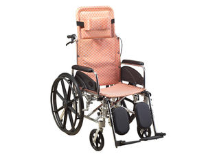 Outdoor Aluminum Folding Handicapped Manual Wheelchair AGALG001