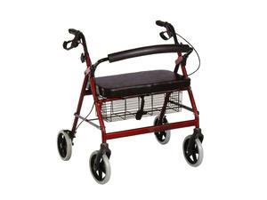 High quality outdoor folding walkers rollators with seat manufacturers
