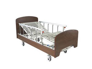 High quality Single Manual Crank Hospital Beds For Home Care factory