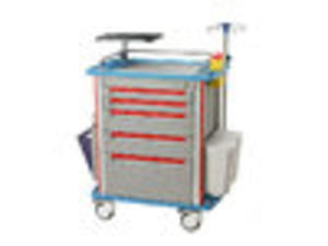 Low price medical aluminum emergency equipment trolley suppliers