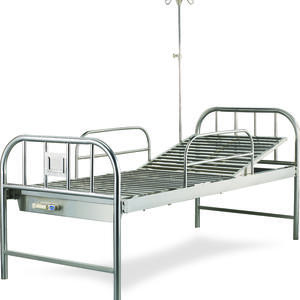 high quality ONE CRANKS MANUAL STAINLESS STEEL BED suppliers